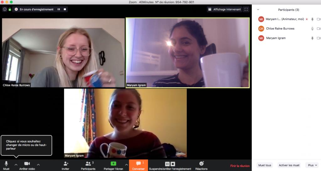 Cours- danglais - et-café - en ligne - en groupe